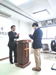 YMCA学院高等学校(奈良)入学式