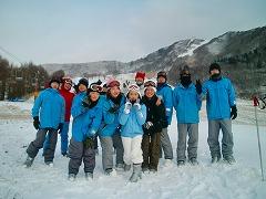 ウィンタースポーツ「スキー実習」