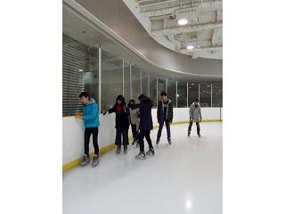 特別活動「アイススケート」